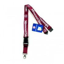 Missouri State Bearcats Merchandise - Lobster Claw 2Side TC Lanyards - 12 For $24.00