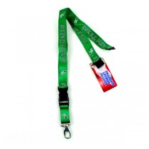 North Texas - Mean Green - 2Side TC Lobster Lanyards - 12 For $24.00