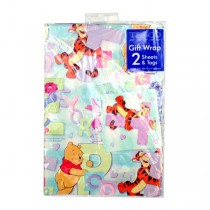 """Winnie The Pooh - 20""""x30"""" 2Piece Wrapping Paper Set - Includes Gift Tags - 36 Sets For $19.80"""