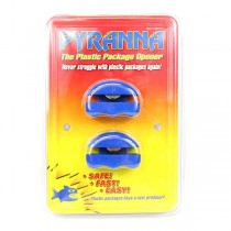 Pyranna Plastic Package Cutter - 2Pack Style - 6 2Packs For $21.00
