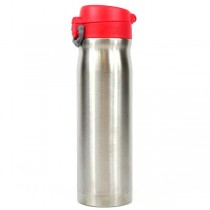 Stainless Steel Tumblers - 16OZ Red Pop Top Style Thermos - Hot/Cold - 12 For $30.00