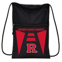 Rutgers University - TeamTech Style Cinch Sacks - 12 For $48.00