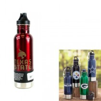 Texas State Bobcats - Stainless Steel Bottle Chillers - 2 For $15.00