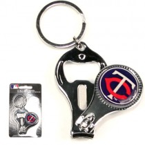 Overstock - Minnesota Twins Keychains - 3in1 Bottle Opener - 12 For $18.00