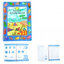 Vacation Journal - Activities, Charts, Ledger - 100 For $40.00