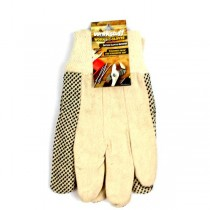 WorkStuff Gloves - Cotton Gripper Dots Gloves - 48 For $28.80